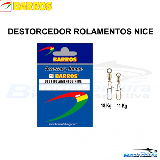 BARROS DESTORCEDOR DE ROLAMENTOS NICE