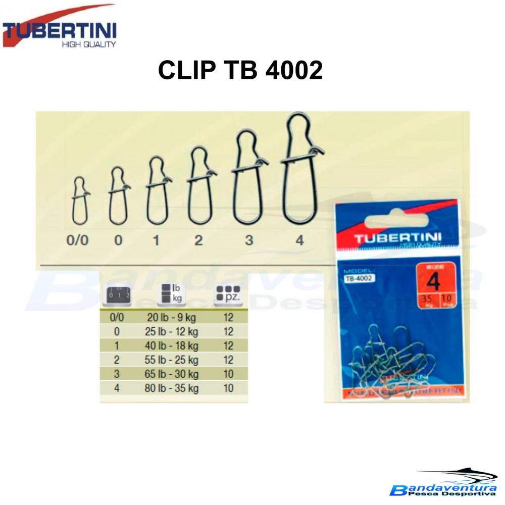 TUBERTINI CLIP RÁPIDO TB4002