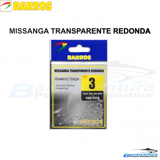 BARROS MISSANGA TRANSPARENTE REDONDA