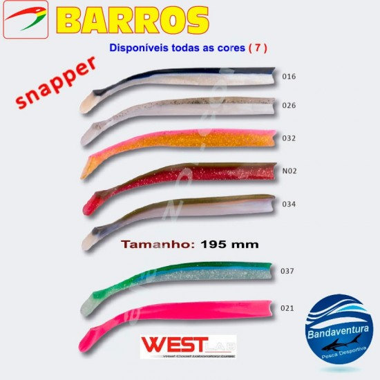 BARROS SNAPPER (TODAS AS CORES)