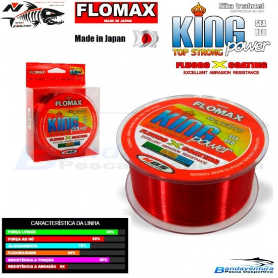 FLOMAX KING POWER RED FLUO*COATING