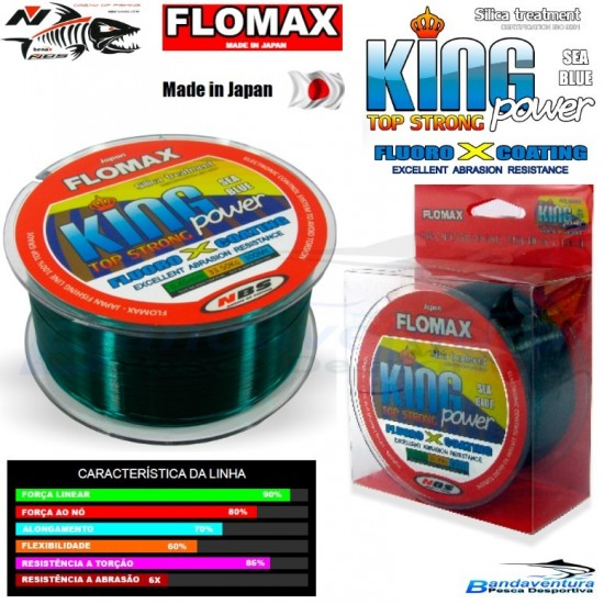 FLOMAX KING POWER BLUE FLUO*COATING
