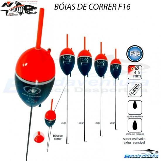 NBS BÓIAS DE CORRER F16