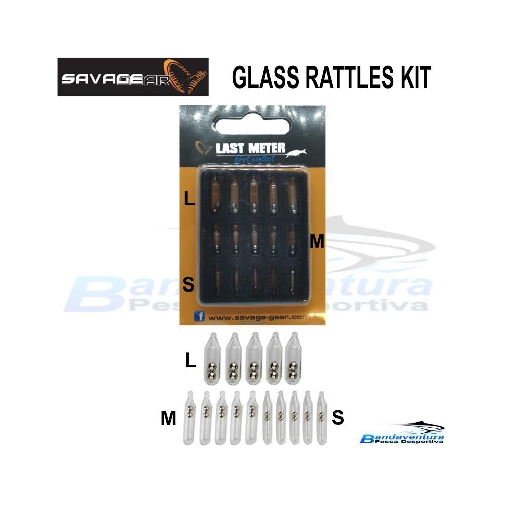 SAVAGE GEAR GLASS RATTLES KIT