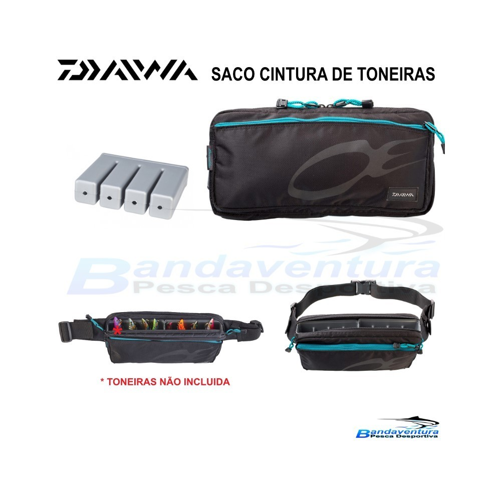 DAIWA SACO CINTURA EMERALDAS