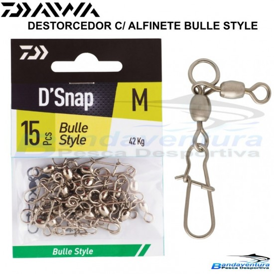DAIWA DESTORCEDOR C/ ALFINETE BULLE STYLE