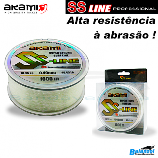 AKAMI SS LINE WHITE PROFESSIONAL 1000 MT