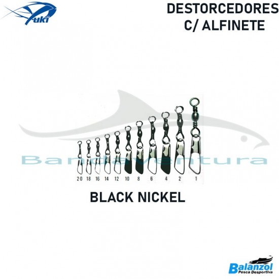 YUKI DESTORCEDORES C/ALFINETE