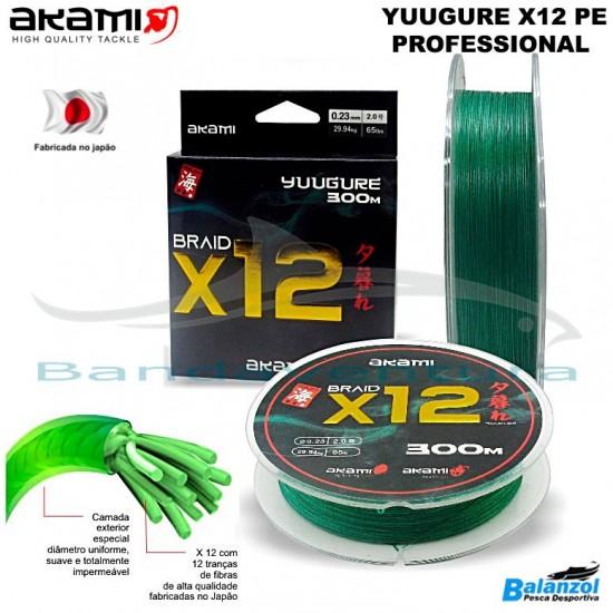 AKAMI YUUGURE X12 PE PROFESSIONAL 300 Mt