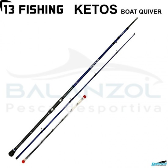 13 FISHING KETOS BOAT QUIVER