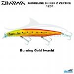 DAIWA SHORELINE SHINER Z VERTICE 120F