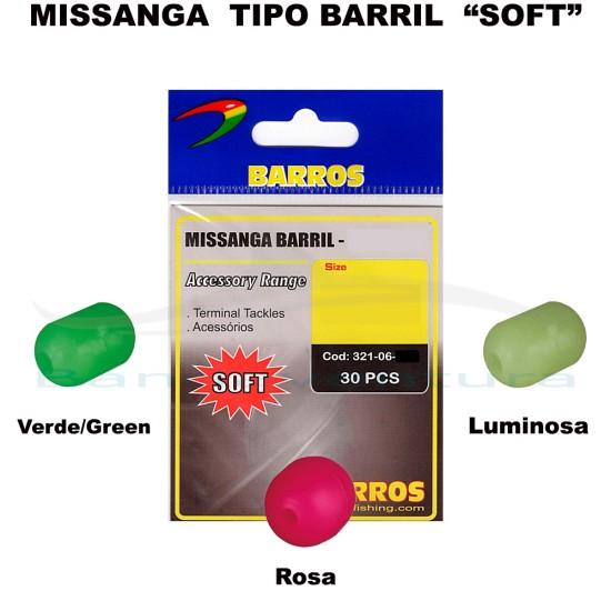 BARREL SOFT BEADS BARROS