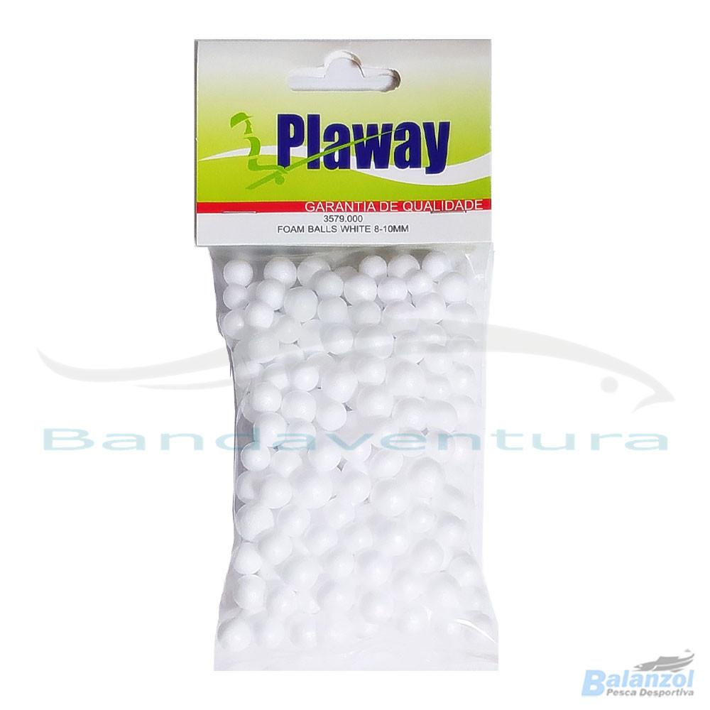 PLAWAY BALLS WHITE 8-10MM