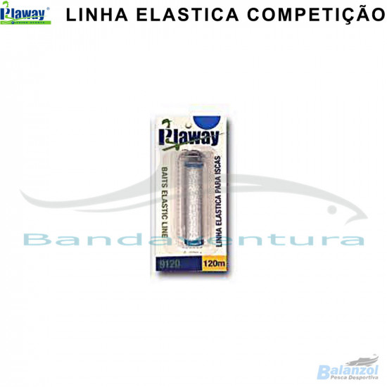PLAWAY COMPETITION BAITS ELASTIC LINE
