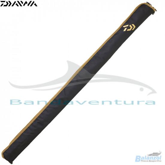 DAIWA 2-ROD SOFT CLOTH ROD SLEEVES (WITHOUT REELS)TOURNAMENT SURF RUCKSACK