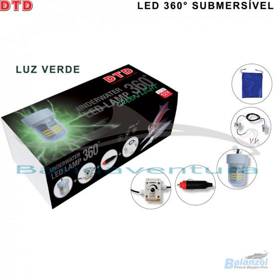UNDERWATER LED LAMP 360° GREEN