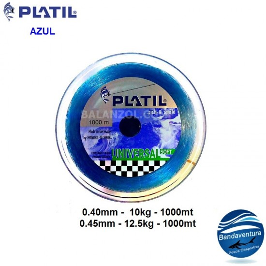 PLATIL UNIVERSAL SOFT AZUL 1000MT
