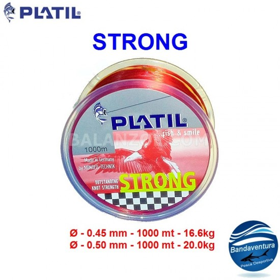 PLATIL STRONG VERMELHO 1000MT