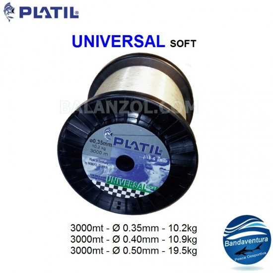 PLATIL UNIVERSAL SOFT BRANCO 3000 MT