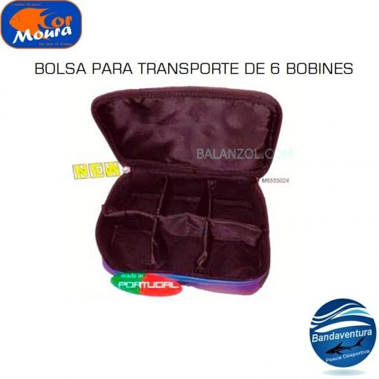 CORMOURA BOLSA PARA 6 BOBINES