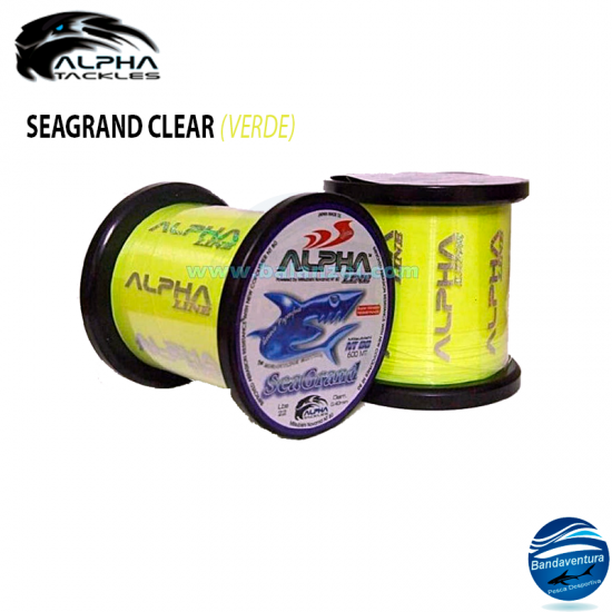 ALPHA TACKLES SEAGRAND CLEAR VERDE