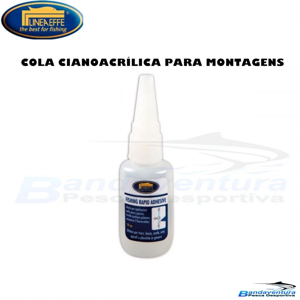 LINEAEFFE CIANOACRÍLICA P/MONTAGENS
