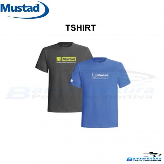 MUSTAD T-SHIRT AZUL
