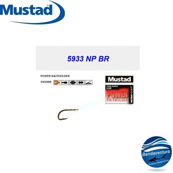 MUSTAD ANZOL 5933NP BR