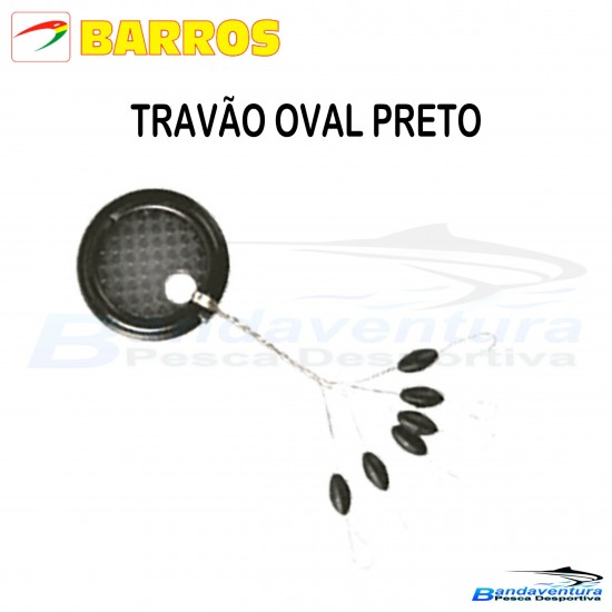 BARROS TRAVÃO OVAL PRETO