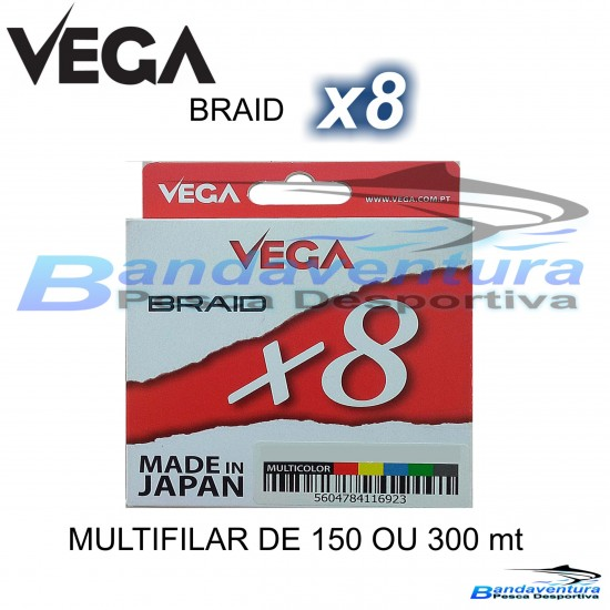 VEGA BRAID X8 (MULTICOLOR)